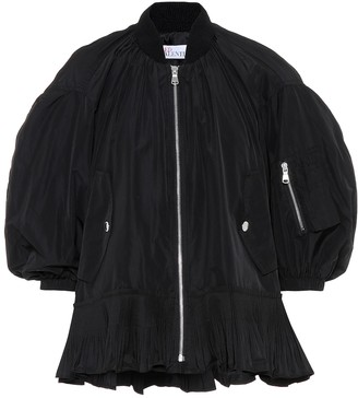 RED Valentino Ruffle-trimmed bomber jacket