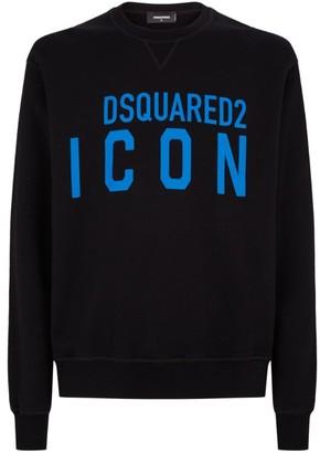 DSQUARED2 Cotton Icon Sweatshirt