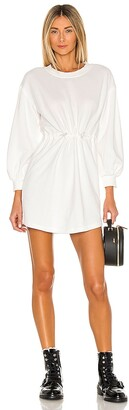Alice + Olivia Heeda Drop Shoulder Toggle Dress