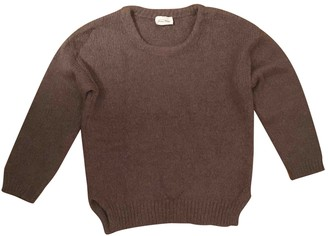 American Vintage Camel Wool Knitwear