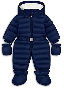 Save The Duck Unisex' Hooded Quilted Onesie - Baby