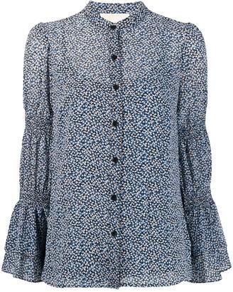 MICHAEL Michael Kors Micro-Floral Print Shirt