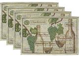 Vino Placemats - Set of 4