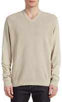 Bugatti Premium Cotton V-Neck Sweater