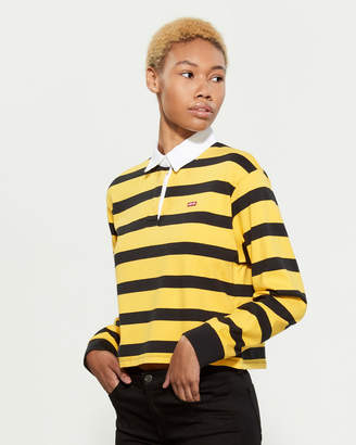 Levi's Rugby Stripe Long Sleeve Shirt