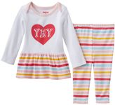 Skip Hop Baby Girl Embroidered Graphic Tunic & Leggings Set