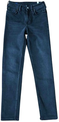Acne Studios Bla Konst Grey Cotton - elasthane Jeans for Women