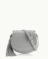 GiGi New York Jenni Saddle Bag Pebble Grain