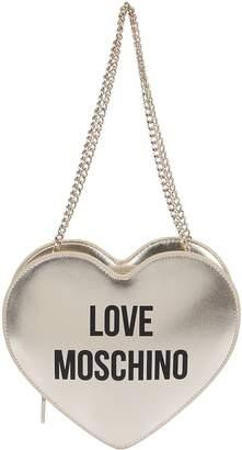 Love Moschino Platinum Eco-leather Bag