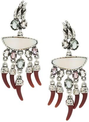 Camila Klein Dentes earrings