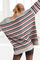 BDG Stripe Oversized Pullover Sweater