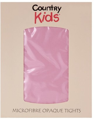Country Kids Microfibre Opaque Tights