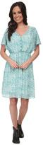 Stetson 9575 Animal Printed Chiffon Dress