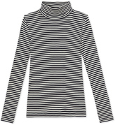 Petit Bateau Womens striped undersweater in ultra light cotton