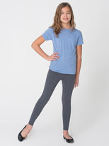 American Apparel Youth Cotton Spandex Jersey Legging