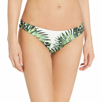 Agua Bendita Women's Palm Tree Explosion Bendito Excelsa Hipster Bikini Bottom