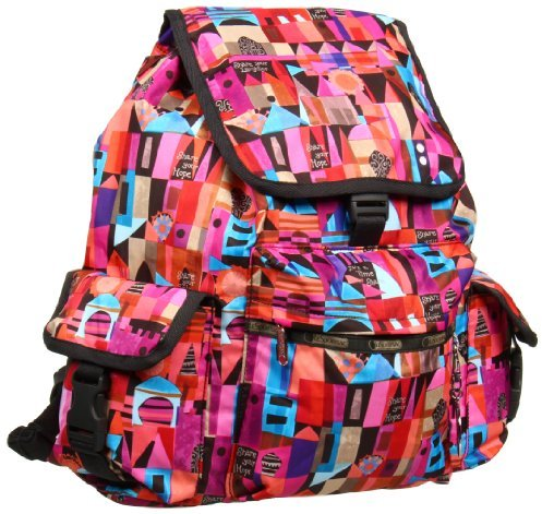 Le Sport Sac Voyager With Charm Backpack