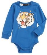 Infant Boy's Rock Your Baby Tiger Star Bodysuit