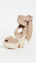 Thumbnail for your product : Alexandre Vauthier Leila Wedge Sandals