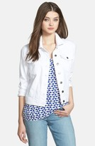 KUT from the Kloth Petite Women's 'Helena' Denim Jacket