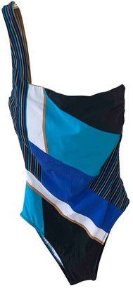 Gottex Blue Lycra Swimwear for Women