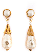 Miriam Haskell Royal Contessa Earrings