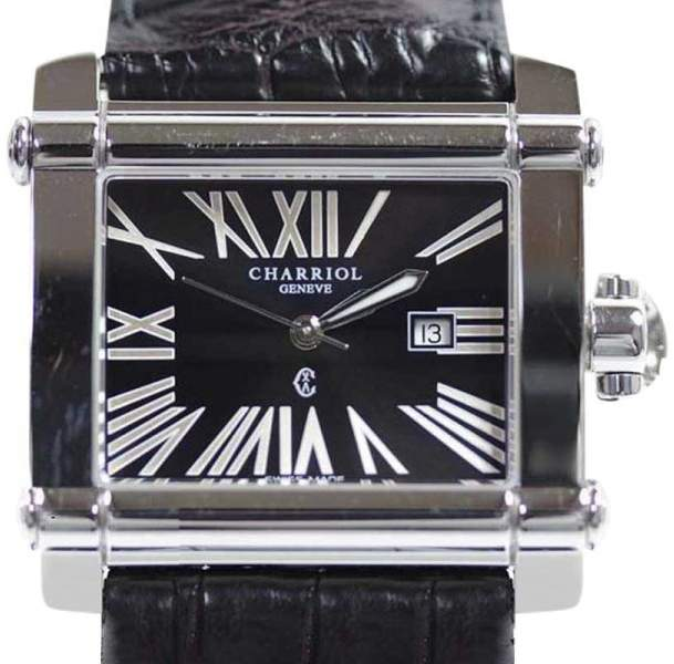 Charriol Philippe Actor CCHL Stainless Steel Quartz 33mm Mens Watch