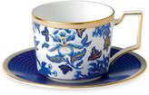 Wedgwood Hibiscus Teacup & Saucer Set