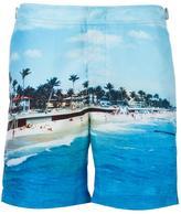 Orlebar Brown beach print swim shorts - men - Polyester - 30