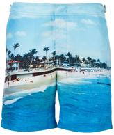 Orlebar Brown beach print swim shorts - men - Polyester - 31