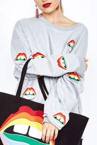 Lauren Moshi Rainbow Lip Sweater