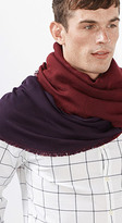 Esprit OUTLET woven scarf w two different colours