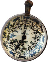 One Kings Lane Vintage Chinese Crystal Ball Astrology Clock
