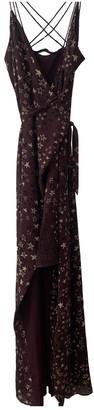 House Of Harlow Burgundy Dress for Women