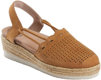 Earth Buran Azalea Espadrille Wedge
