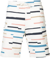 Wesc Marty broken stripe shorts - men - Cotton - L