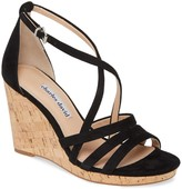 Charles by Charles David Charles David Leather Criss Cross Straps Wedges- Randee