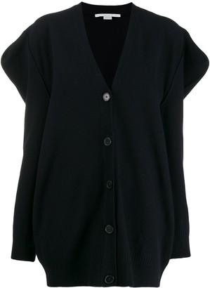 Stella McCartney Structured Sleeves Cardigan