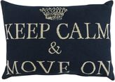 Park B. Smith ''Keep Calm And Move On'' Throw Pillow