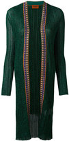 Missoni long cardigan - women - Polyester/Cupro/Viscose - 44