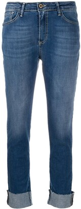 Merci Angelina mid-rise cropped jeans