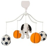 Bedtime Originals Peanuts Musical Mobile - Snoopy Sports