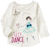 Gymboree White 'Let's Dance' Ballerina Top - Infant & Toddler