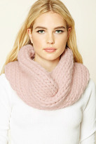 Forever 21 FOREVER 21+ Purl Knit Infinity Scarf