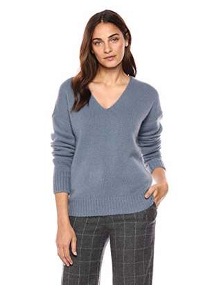 Theory Women's Relaxed Vneck Pullover Sweater