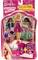 Barbie Dress-Up Closet Magnetic Paper Doll Set