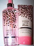 Victoria's Secret 2 Piece Sheer Love Blush Fragrance Gift Set- Body Lotion and Fragrance Mist (Sheer Love Blush)