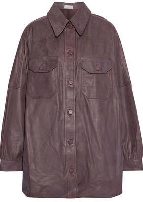 A.L.C. Mercier Oversized Leather Jacket