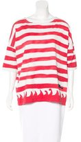 Tsumori Chisato Striped Oversize Top
