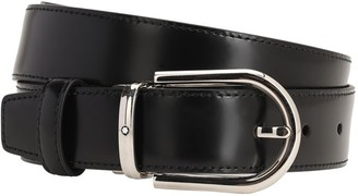 Montblanc 30mm Leather Belt